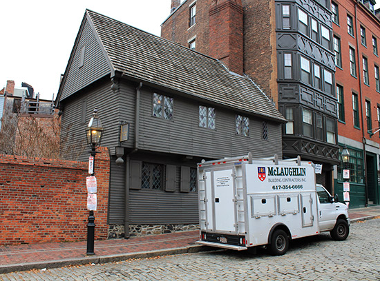 Casa de Paul Revere de Boston