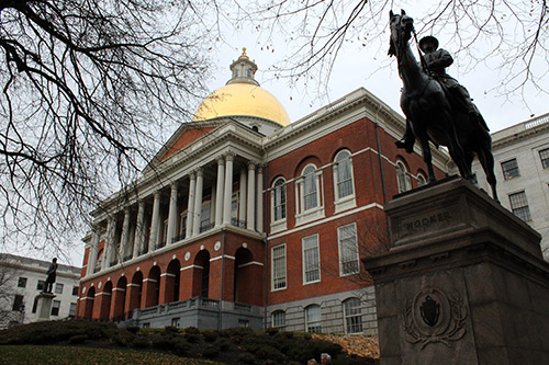 Massachusetts State House de Boston