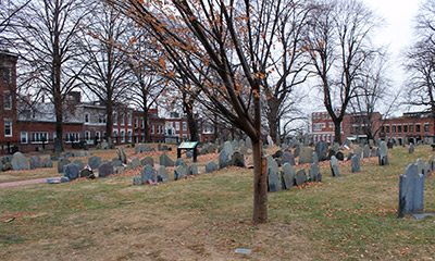 Cementerio de Copps Hill Burying Ground de Boston
