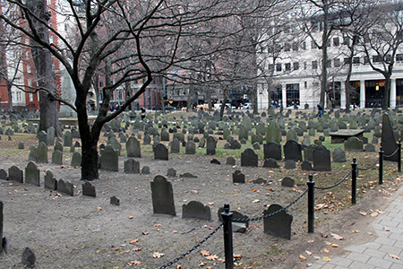 Cementerio Granary Burying Ground de Boston