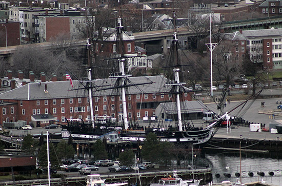 Fragata USS Constitution de Boston