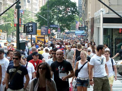 Foto de la quinta avenida de Nueva York