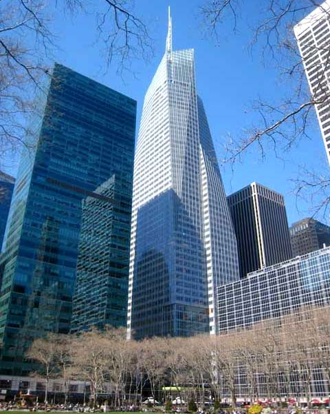 Foto del rascacielo de Nueva York Bank of America Tower