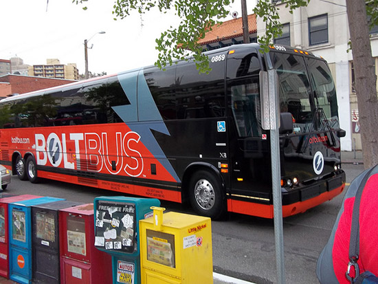 BoltBus Nueva York a Washington DC
