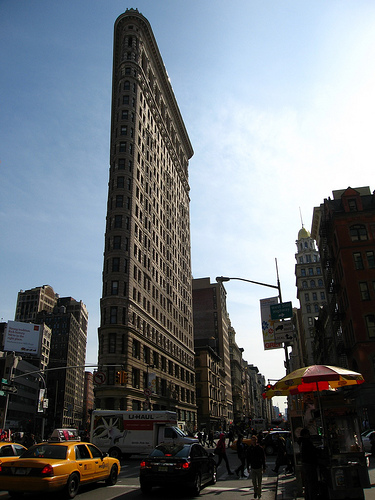 Foto del Edificio Fuller o edificio Flatiron