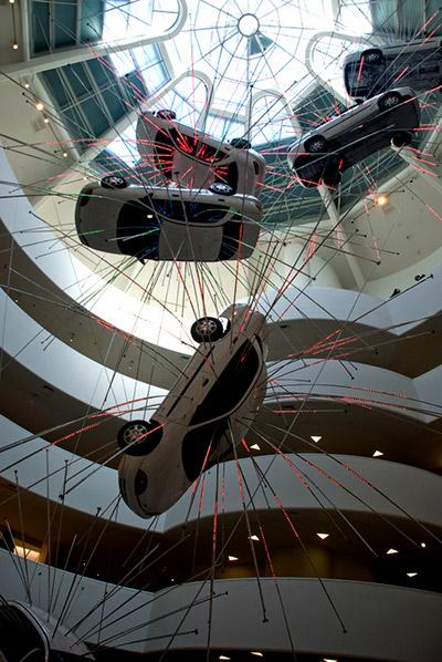 Interior Museo Guggenheim de Nueva York
