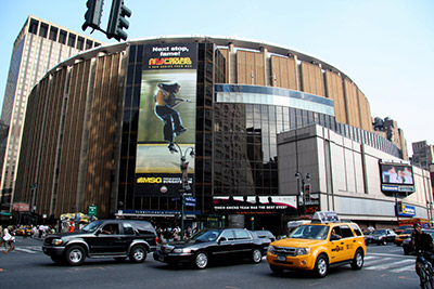 Foto del Madison Square Garden de Nueva York