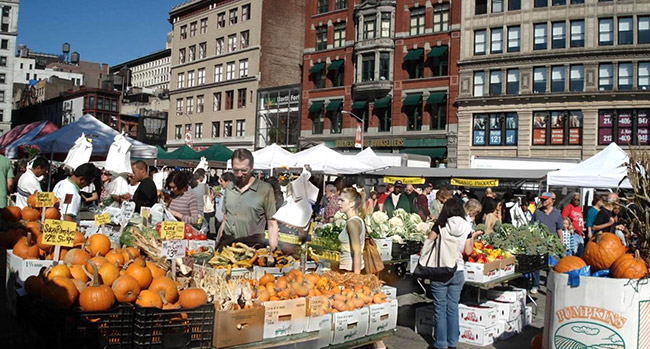 Foto del mercado de Nueva York: Union Square Greenmarket