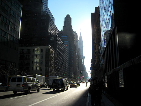 Foto de la avenida de Lexington de Nueva York