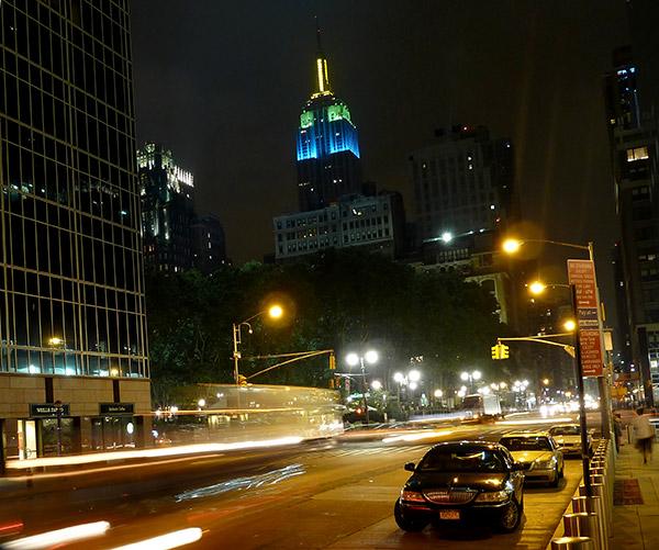 Empire State Building de noche