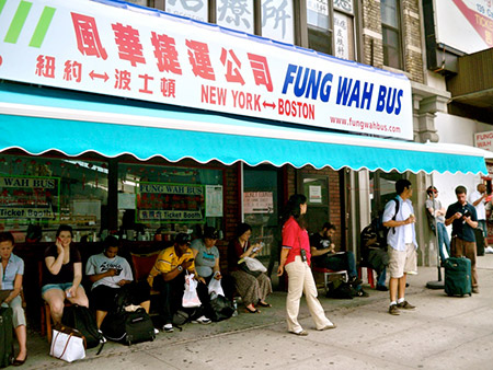 Bus Fung-wah Nueva York - Boston