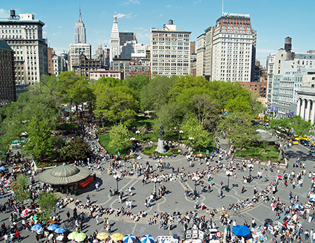 Foto de Union Square en Nueva York