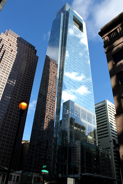 Rascacielos Comcast Center de Philadelphia