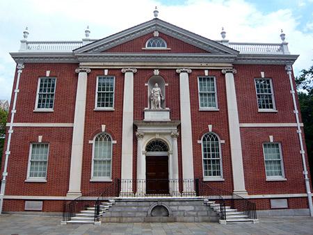 Biblioteca Library Hall de Philadelphia