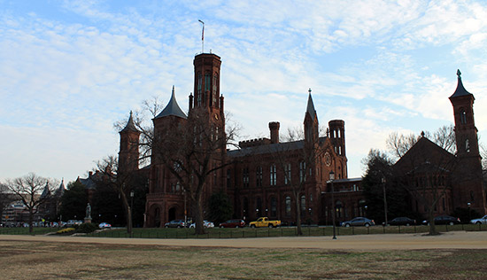 El Castillo del Smithsonian en Washington DC