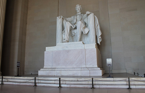 Estatua a Lincoln (Lincoln Memorial)