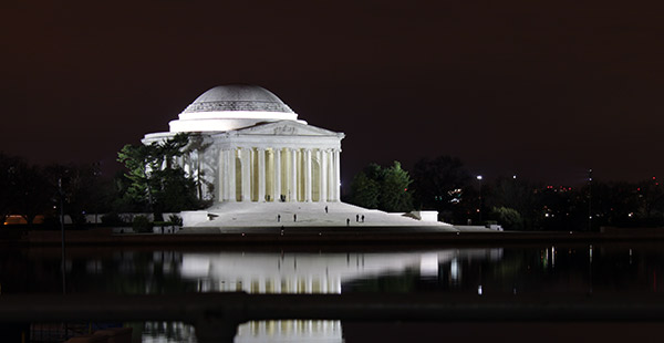 Monumento a Thomas Jefferson en Washington DC (Thomas Jefferson Memorial)
