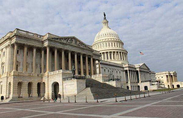 Parte trasera del Capitolio (The Capitol)